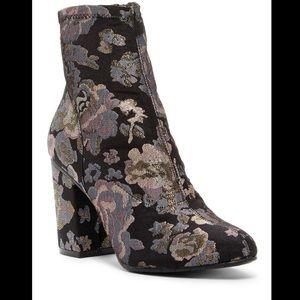 Kenneth Cole metallic booties